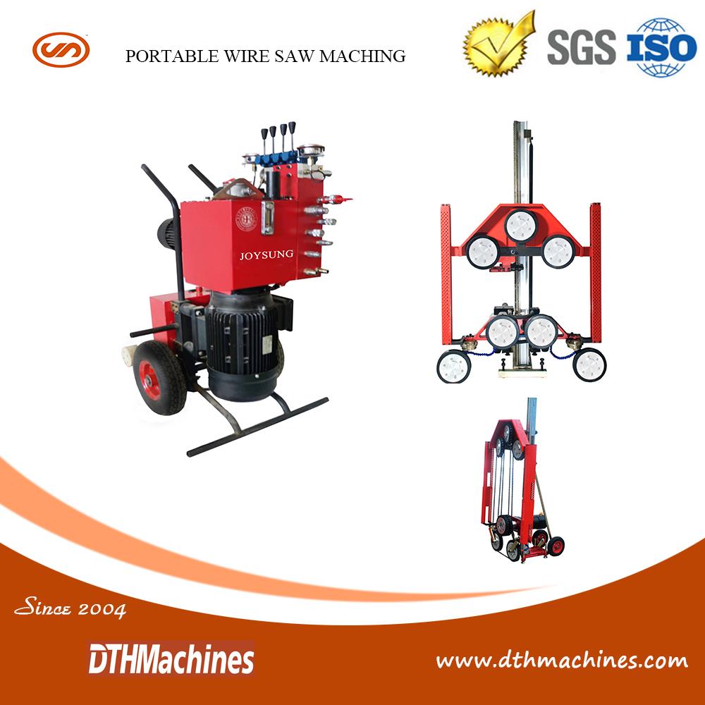 Hydraulic Wire Saw Machine Cutting Concrete, Hydraulic Wire Saw ...