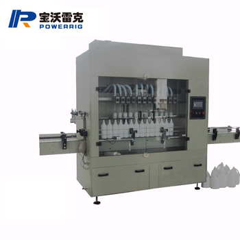 Time Gravity Acid Filling Machine