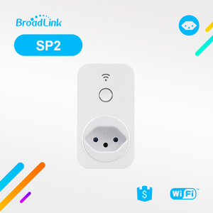 Home automation products BroadLink SP2 BR 3 pin south africa plug ir smart plug wifi brazilian plug