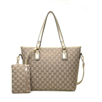 Wholesale fashion women print canvas bag tote