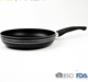 Aluminum non-stick stone coating sauce pan and pot set with logo print