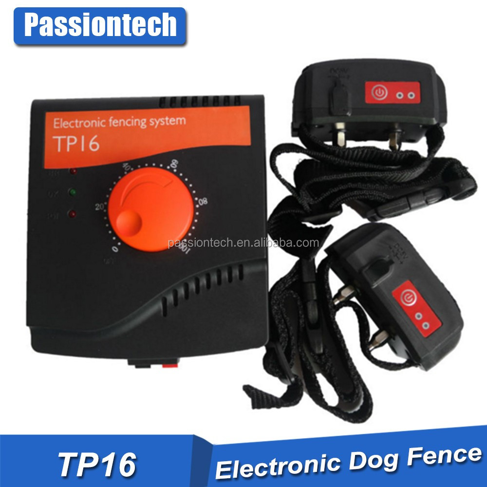 Pet-tech TP16 Waterproof and recharegeable dog fence with Boundary flags