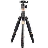 Fosoto Q278 Professional Tripod Monopod Camera Tripod with Ball Head for Canon Nikon Sony DSLR