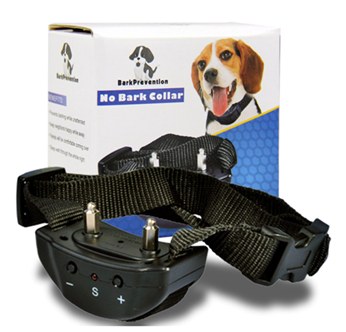 Advanced Anti - Bark Dog Collar Training System Electric No Bark Shock Control with 7 Adjustable Sensitivity Control Levels