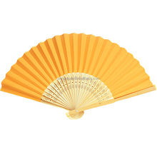 Wedding and party Promotional personalized decorative Lady Wood hand fans