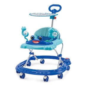 manufacturers wholesale new model 8 swivel wheels baby walker with fisher price
