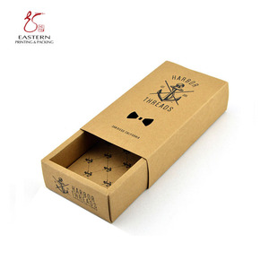 Kraft Paper Bow Tie Box wholesale/Bow Tie Packaging