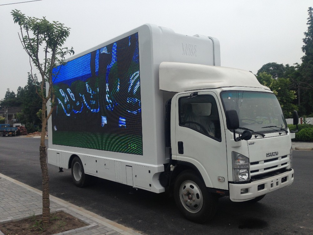 Yeeso Mobile Led Advertising Screen Truck For Sale - Buy ...