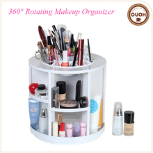 China Supplier Plastic Desktop 360 Degree Rotating Makeup Organizer Gift Ideas for Women