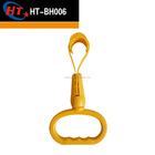 yellow grab handle round train handle