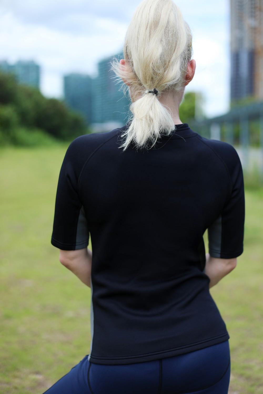 Half Zipper Sweat Shirt 3