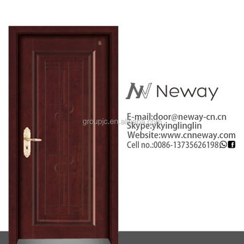 Made in china design of school gate new building for Teak wood doors models