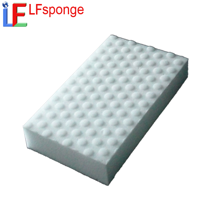 Kitchenware cleaning sponge scourer / high density melamine nano sponge pads for dish washing