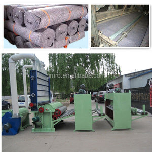 Needle punching machine for blanket/vonwoven felt machine line in china