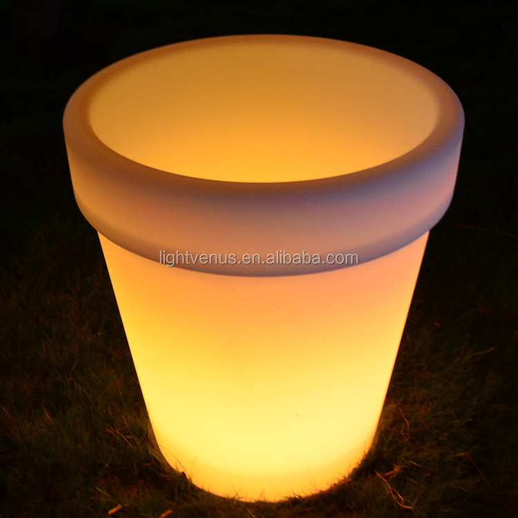 E27 led lamp bloemenvaas/groot formaat led verlichting planter pot