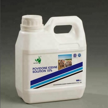 disinfectant and preservative povidone iodine solution for poultry farm