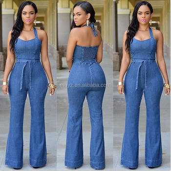 L1399a New Style Fashion Women Jeans Sexy Womens Denim Overalls