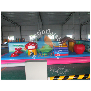 2016 Aier guangzhou Inflable/beautiful kids favourite Inflatable Bouncer Funland