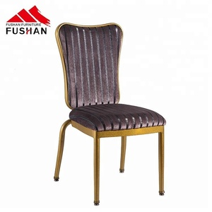 High quality aluminum flex back stacking banquet chair