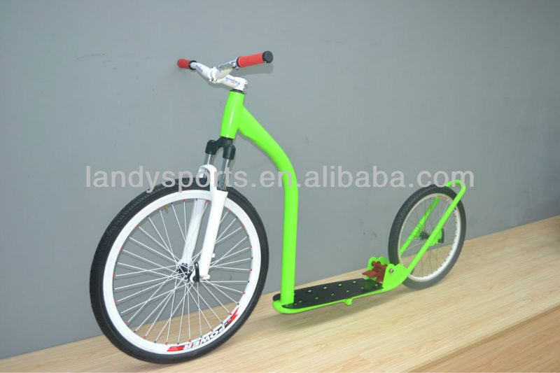 Adulto patinete rodas grandes crian as pedal patinete 2 for Big wheel motor scooter