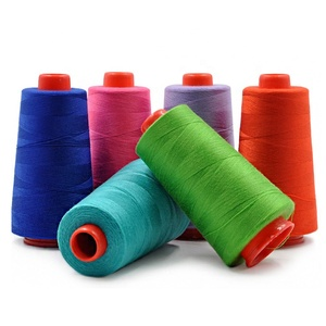 40/2 20/2 20/3 Cheap Wholesale Manufacturer Industrial Polyester Sewing Thread for Shirt Uniform Jeans Dress Chino Denim