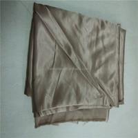 heavy weight satin fabric/wedding decoration satin fabric/composition of cotton satin fabric