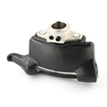 28mm plastic demounting head with metal flange tyre changer accessory tyre changer tool head