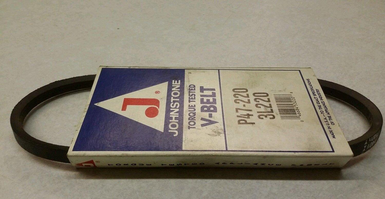 (USA Warehouse) Johnstone Torgue tested Vbelt P47-220 3L220 -/PT# HF983-1754352559