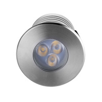 IP68 3W RGB Swimming Pool Lamp White Underwater LED Light For Fountain Lighting spa led 3W Blue with PC embedded part