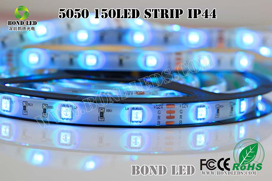 SMD 5050 60LED/M LED Strip Waterproof IP65 RGB 5 Meter 300LED DC 24V Stripe CE RoHs