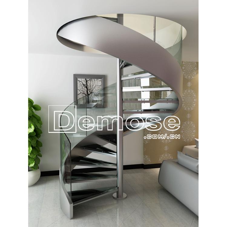 Villas diseño escalera de caracol para la pequeña casa-Escaleras ...