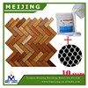 how to grout mosaic glass tiles with polyester mesh