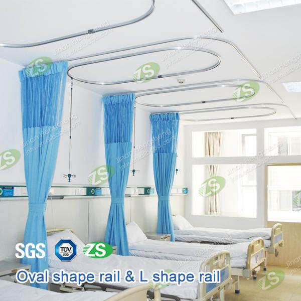 Aluminum Hospital Curtain Track Curtain Menzilperde Net
