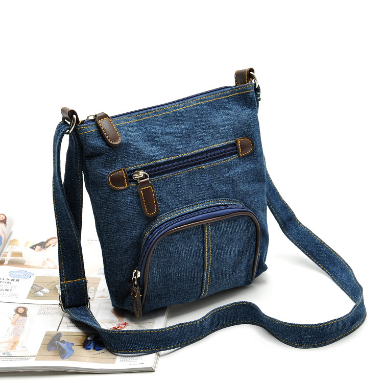 15385aec302 Get Quotations · Original Single 2015 women handbags classic denim shoulder  bag diagonal package messenger bags jeans bag bolsa
