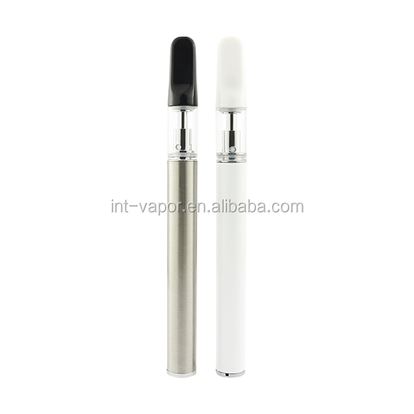 D13 disposable vape pen/glass tank ceramic coil vape pen cartridge/400mah vape battery/0.5 ml cbd oil atomizer vaporizer pen