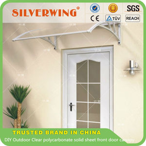 clear transparent polycarbonate decorative window awning, used awnings for sale