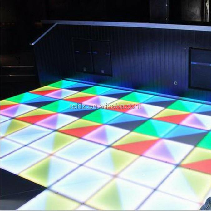 China Led Supplier Dmx Acrylic White Floor Tile Portable ...