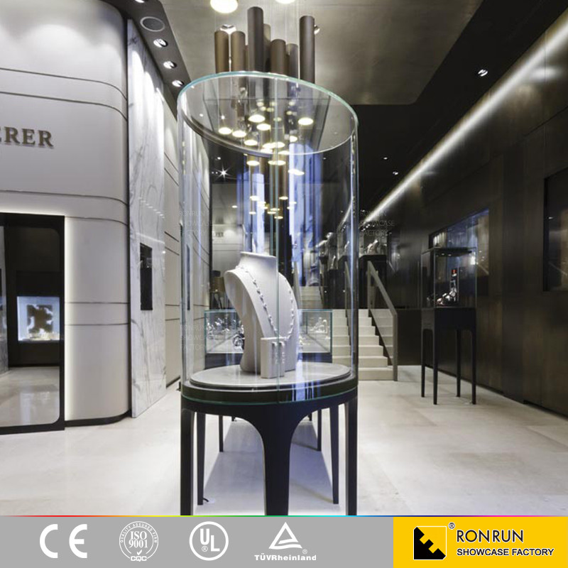 Glass Jewelry Display And Showroom Display Counter For Jewellery ...