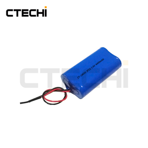 CTECHi rechargeable 3.7V lithium ion 18650 battery pack