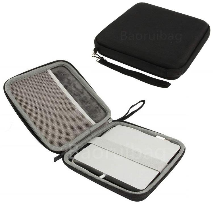 Ultra-Slim Black Optical Drive / Portable External DVD CD USB Travel Hard EVA Carrying Case Bag