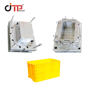used plastic injection industrial turnover box crate molds