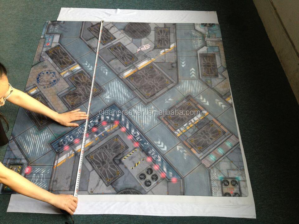 """""""Cartonnage"""" d'une carte 4x6-4x4-Neoprene-wargame-terrain-play-mat"""