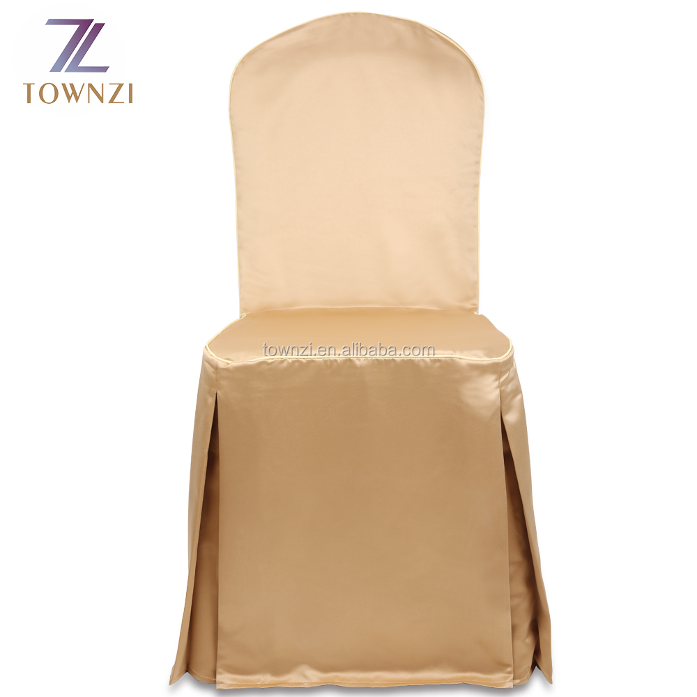 Cheap Wholesale Universal Polyester Wedding Chair Banquet Chair Cover