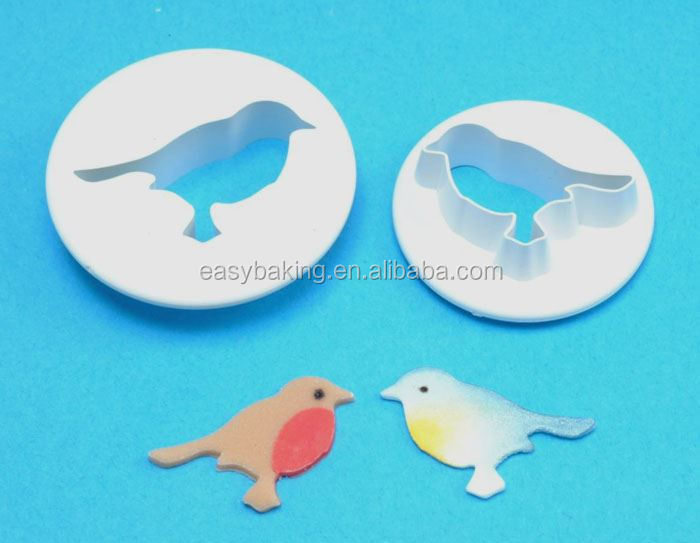 Plastic Cookie Cutter Set Bird 2 Pack FP-117
