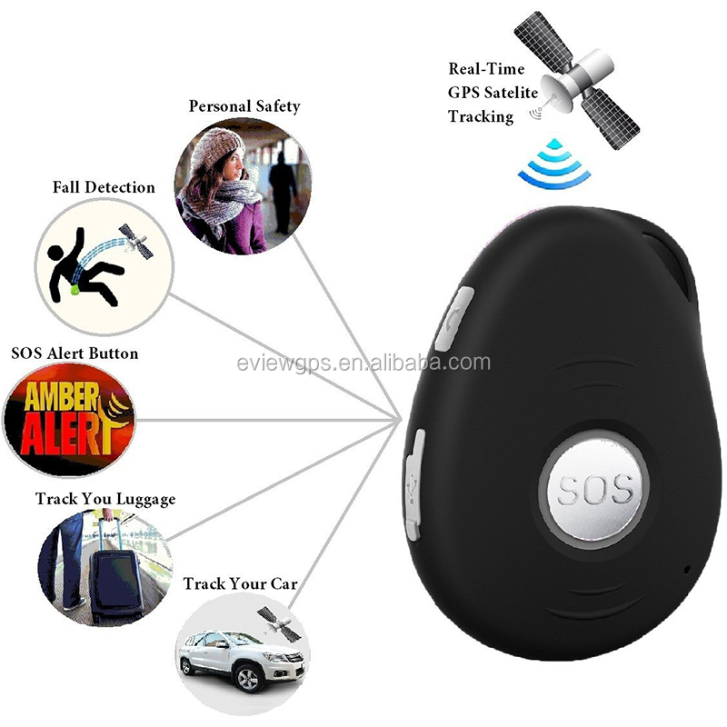 Health safety sos gps fall alert tracker medical medicine reminder wearable gps tracker