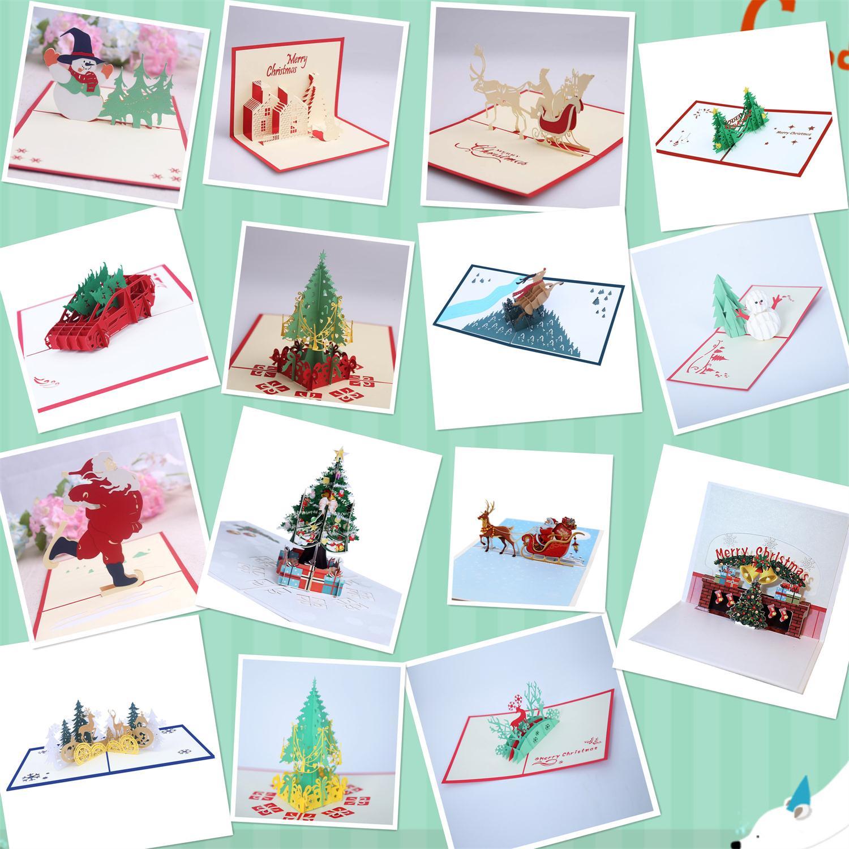 вот трехмерные открытки для рождественских открыток юге, как всегда
