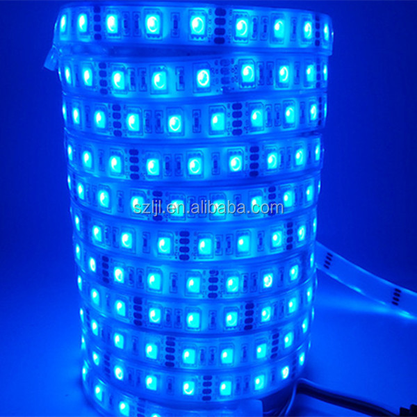 IP20/IP65/IP68 5050 60 led/m blue cheap led strip light for outdoor contour