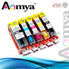 Refillable ink cartridge PGI 425 series For Canon iP 4840 MG5140 MG5240 iX6540 MX884 printer 5 colors with permanent chips