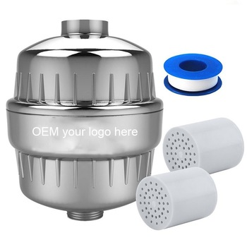 Shower Filter Water Purifier//Softener Remove 99/%Chlorine W// REPLACEMENT REMINDER