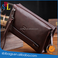 Men's Real Leather Business Clutch Bag Briefcase Wallet